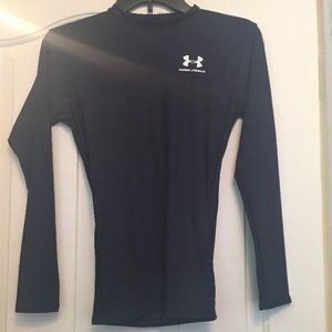 UNDER ARMOUR A29 Navy Blue Long Sleeve Athletic To